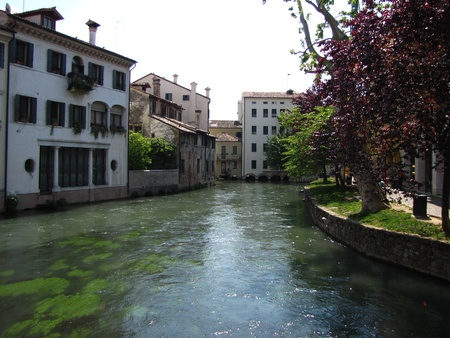 treviso: Historical centre of Treviso (Italy)