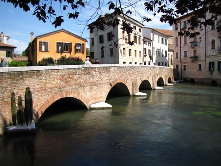 Ponte San Francesco - Treviso (Italy) photo