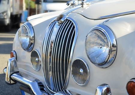 autos: Vintage car detail