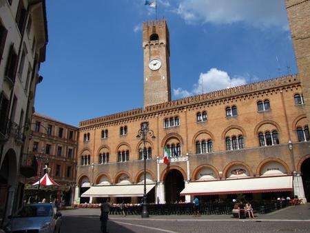 Main square of Treviso - Italy photo