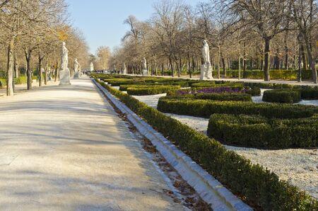 castellana: Parque del Buen Retiro - Madrid, Spain