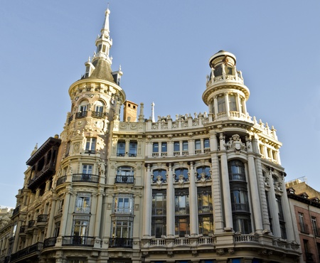 Plaza de Canelejas in Madrid - Spain Stock Photo - 12617702