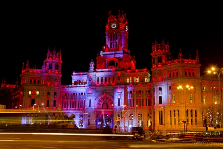 Plaza de Cibeles in Madrid - Spain Stock Photo - 12617698