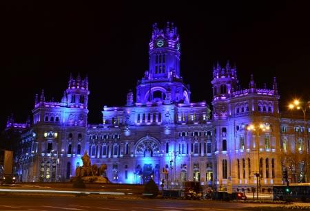 Plaza de Cibeles in Madrid - Spain