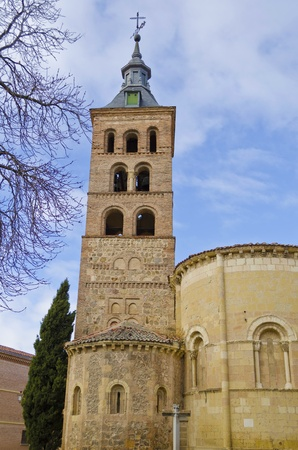 Old church of San Andres in Segovia - Spain  photo