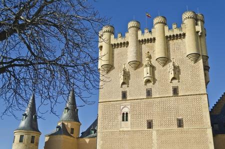 segovia: Alcazar in Segovia - Spain
