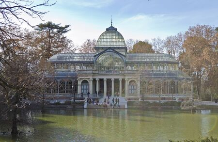 Parque del Buen Retiro - Madrid, Spain Stock Photo - 13372687