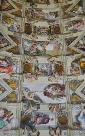michelangelo: Sistine Chapel ceiling Editorial