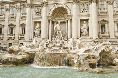 Fontana di Trevi in Rome - Italy photo