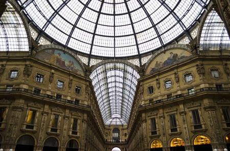 Galleria Vittorio Emanuele in Milan - Italy photo