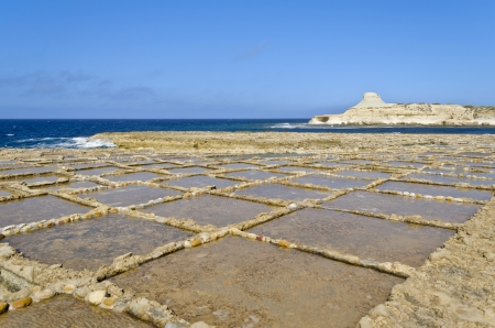 Saltpans in Xwejni, Gozo - Malta photo