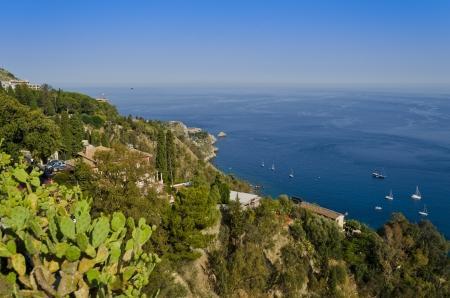 horizont: View from Taormina - Sicily, Italy