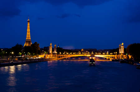 Evening in Paris ,France