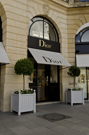 Dior Outlet in Place Vendome in Paris - France