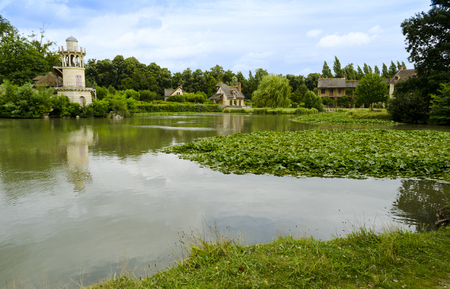 meadowland: The Queens Hamlet located in the Trianon - Versailles, France