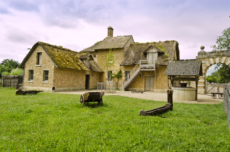 The Farm located in the Trianon  Versailles, France