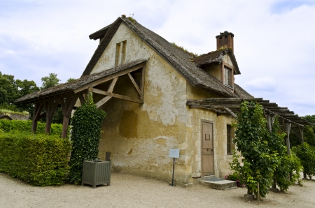 La Laiterie de Propret located in the Queen's hamlet in the Trianon  Versailles, France