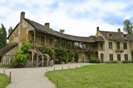 La Maison de la Reine located in the Queen's hamlet in the Trianon  Versailles, France