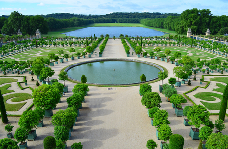 versailles: L Orangerie - Versailles, France  Stock Photo