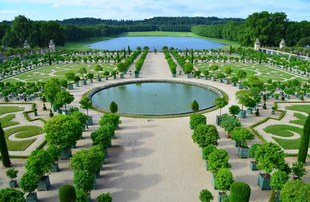 L Orangerie - Versailles, France  Stock Photo