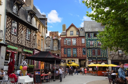 Place Sainte Anne - Rennes France