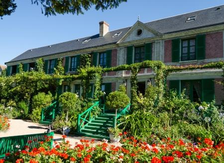 monet: La casa de Claude Monet - Giverny, Francia Editorial