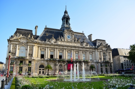 touraine: Town Hall in Tours – France