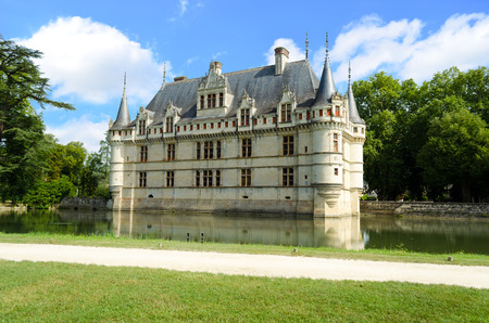 Castle of Azay-le-Rideau – France
