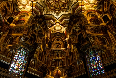 Interior of Cardiff Castle – Wales, United Kingdom