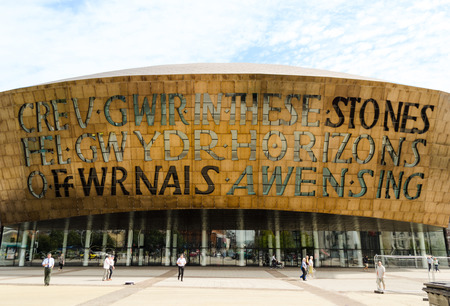 Wales Millenium Centre at Cardiff Bay - Wales, United Kingdom