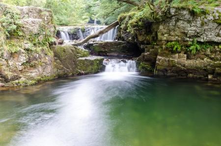 연합 왕국: Waterfalls of the Brecon Beacons National Park � Wales, United Kingdom