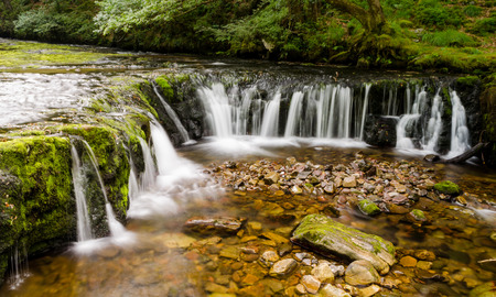 brecon beacons: Waterfalls of the Brecon Beacons National Park � Wales, United Kingdom