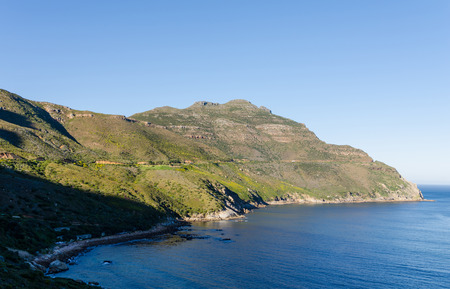 carriageway: Chapmans Peak Drive South Africa