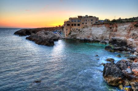 ガル Lapsi マルタの夕日
