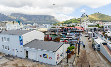 capetown: Victoria and Albert Waterfront  Cape Town South Africa Editorial