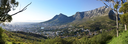 View of Cape Town South Africa