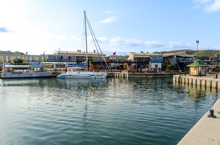 Knysna Waterfront in South Africa Editorial