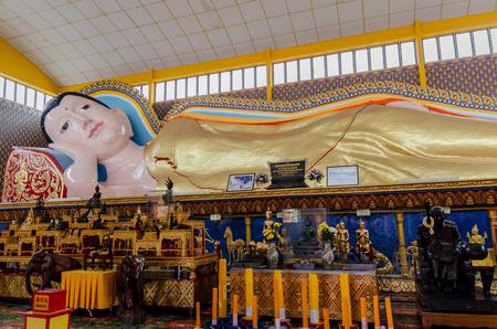 malaysia culture: Wat Chayamangkalaram or Thai Buddhist Temple  Penang Malaysia Editorial