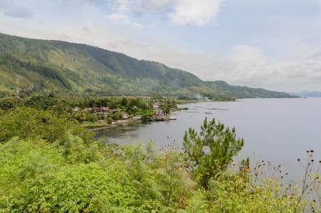 sumatra: Lake Toba in Sumatra, Indonesia