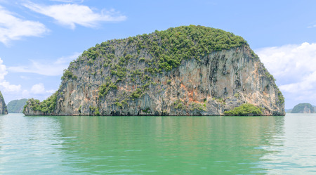 james bond's island: Scenery of Phang Nga National Park in Thailand Stock Photo