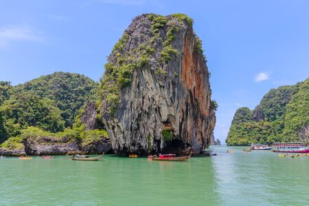 james: Scenery of Phang Nga National Park in Thailand Stock Photo