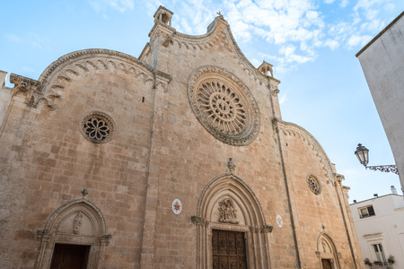 Cathedral of Santa Maria Assunta in Ostuni, Puglia Italy