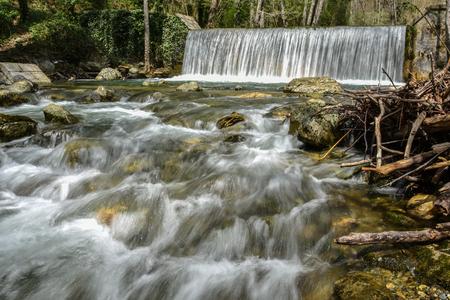 terni: Torrente Peschiera in Parco del Pollino - Basilicata, Italy Stock Photo