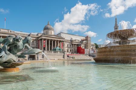 trafalgar: Trafalgar Square in London, UK