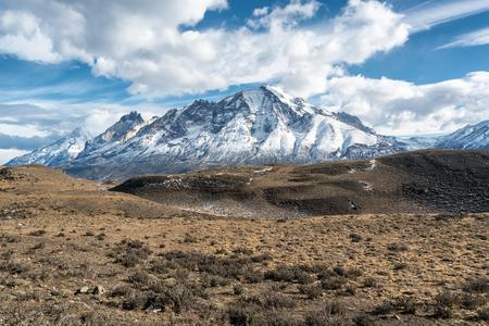Parque Nacional Torres del Paine in Chile Stock Photo