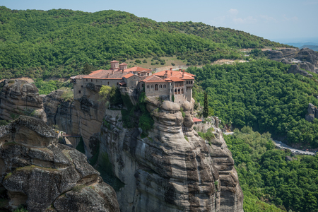 Varlaam monastery at Meteora in Northern Greece