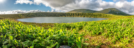 Caldeira Rasa on the island of Flores in the Azores, Portugal