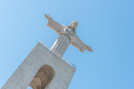 Cristo Rei Monument in Almada, Lisbon Portugal