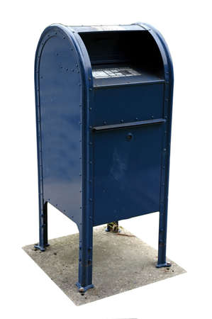 an isolated mailbox Stock Photo - 430309