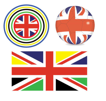 set of symbols of british sports Vector